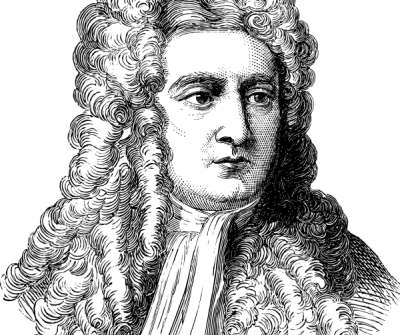 Issac Newton portrait